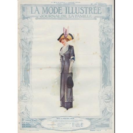 Complete magazine La Mode Illustrée 1912 N°18