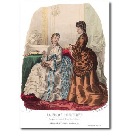 La Mode Illustrée 1873 12