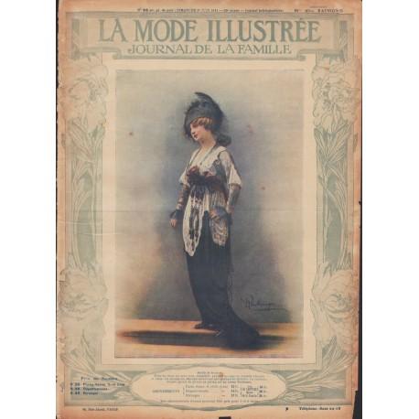 Complete magazine La Mode Illustrée 1914 N°26