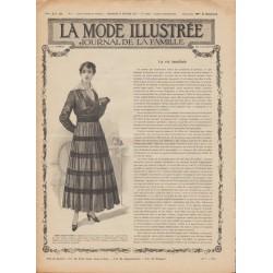 Complete magazine La Mode Illustrée 1916 N°08