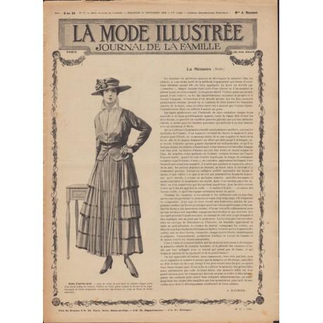 Complete magazine La Mode Illustrée 1916 N°37