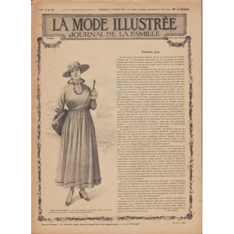 Revue complète de La Mode Illustrée 1916 N°43