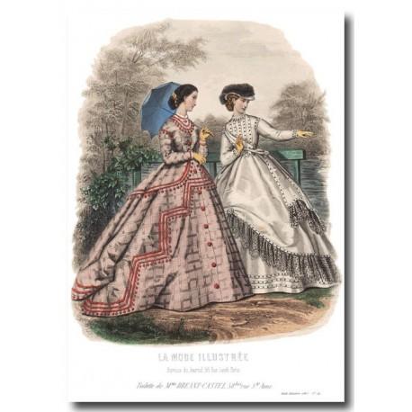 La Mode Illustrée 1865 34