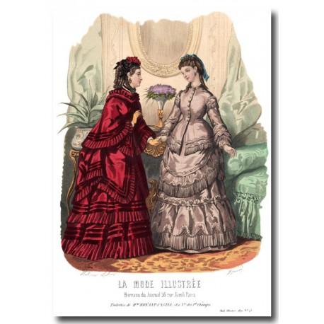 La Mode Illustrée 1870 45