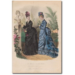La Mode Illustrée 1874 25