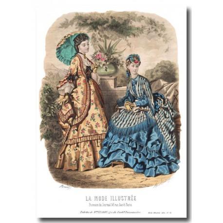 La Mode Illustrée 1870 36