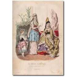 Gravure de La Mode Illustrée 1872 03