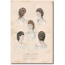 Fashion plate La Mode Illustrée 1872 24