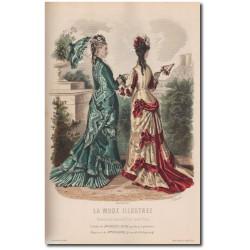 Fashion plate Mode Illustrée 1876 31