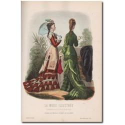 Fashion plate La Mode Illustrée 1877 22