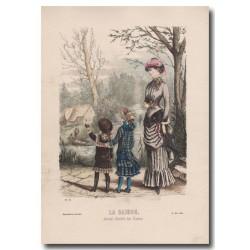 Gravure de La Saison 1882 501
