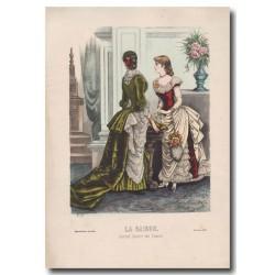 Gravure de La Saison 1883 524