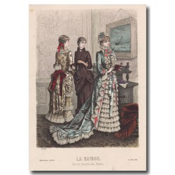 Fashion plates La Saison 1883 539