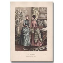 Gravure de La Saison 1884 568