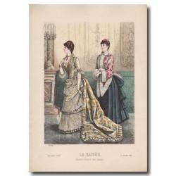 Gravure de La Saison 1884 595