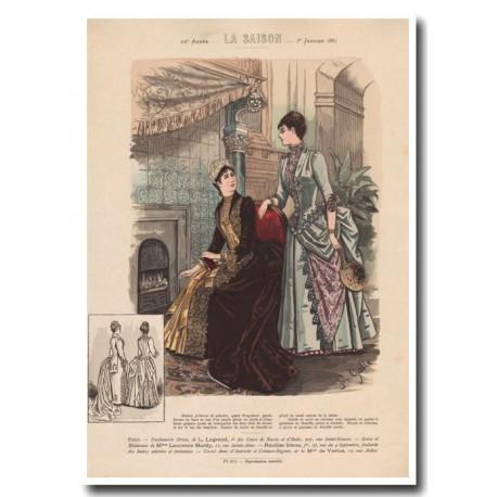 Gravure de La Saison 1887 671
