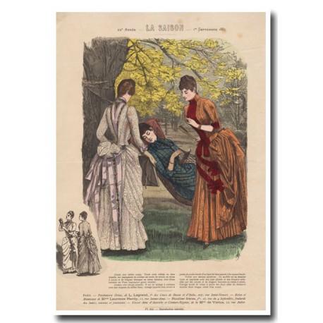 Gravure de La Saison 1887 695