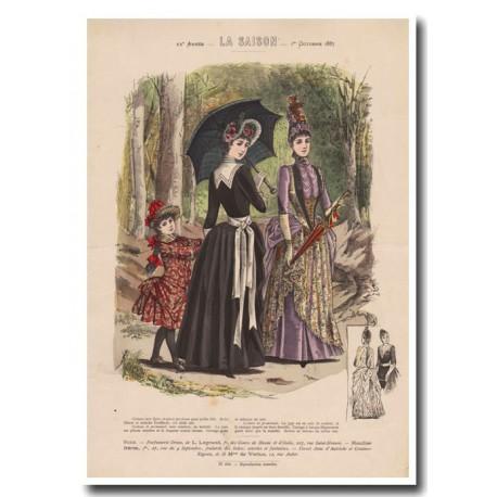 Gravure de La Saison 1887 696