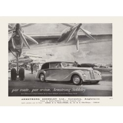 Publicité Armstrong Siddeley