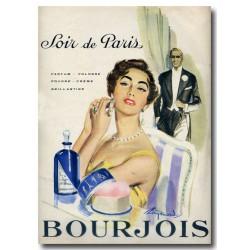 Publicité Parfum Soir de Paris 1955