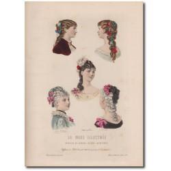 Gravure de La Mode Illustrée 1883 02