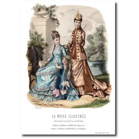 La Mode Illustrée 1877 23