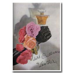 Publicité Parfum de Lenthéric Dark Brillance 1947