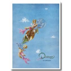 Publicité Parfum d'Orsay Divine 1947