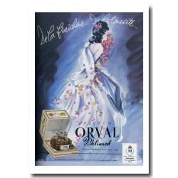 Publicité Parfum Orval Molinard 1947