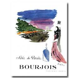 Publicité Parfum Bourgeois Soir de Paris 1949