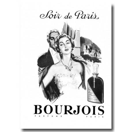 Publicité Parfum Soir de Paris 1954