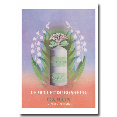 Publicité Parfum Caron le Muguet 2