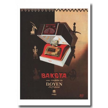 Publicité Parfum Doyen Bakota