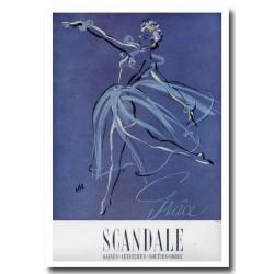 Publicité Soutien-gorge Scandale 1947