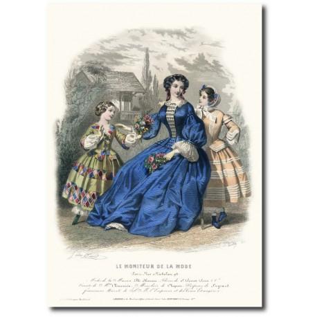 Le moniteur de la mode 1854 1