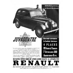 Publicité Renault Juva 4