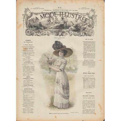 Complete magazine La Mode Illustrée 1909 N°37
