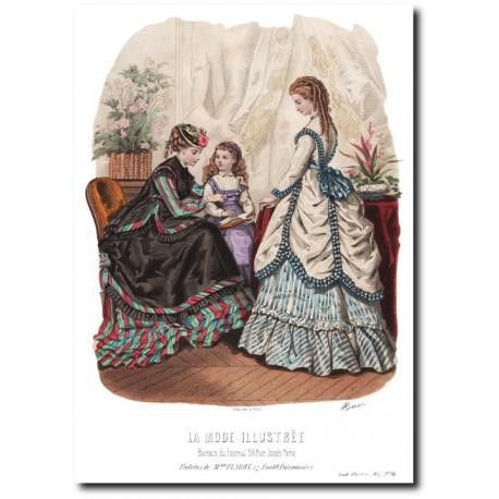 La Mode Illustrée 1869 14