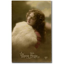 Carte postale 1900 92