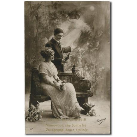 Carte postale 1900 311