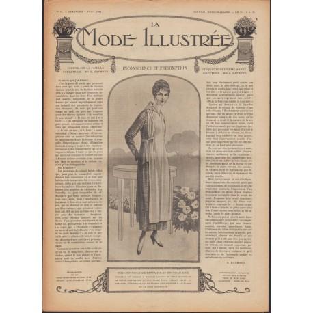 Complete magazine La Mode Illustrée 1918 N°14