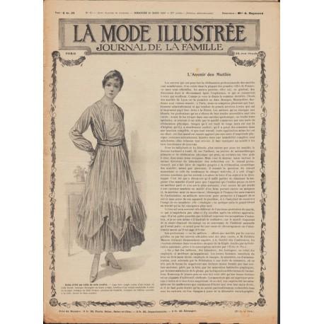 Complete magazine La Mode Illustrée 1916 N°13