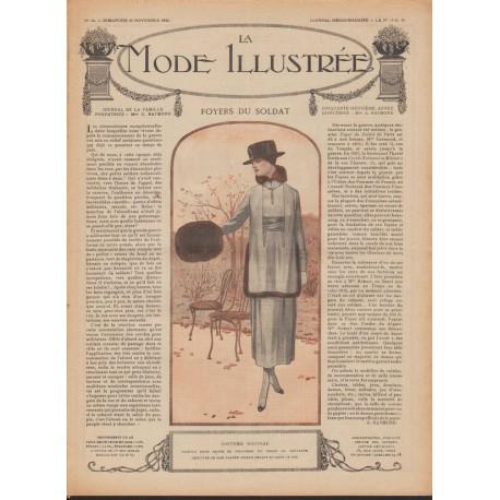 Revue complète de La Mode Illustrée 1918 N°45