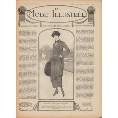 Revue complète de La Mode Illustrée 1918 N°44