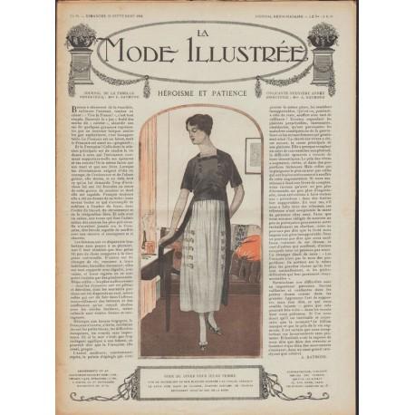 Revue complète de La Mode Illustrée 1918 N°39