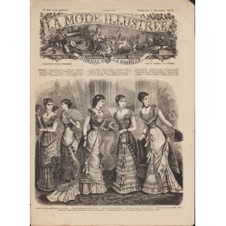 Revue complète de La Mode Illustrée 1879 N°49