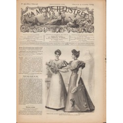 Revue complète de La Mode Illustrée 1894 N°44