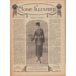 Revue complète de La Mode Illustrée 1918 N°22