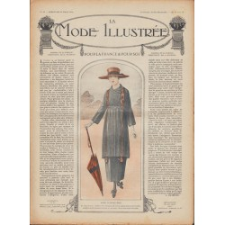 Complete magazine La Mode Illustrée 1918 N°13