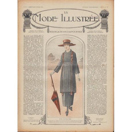 Revue complète de La Mode Illustrée 1918 N°13